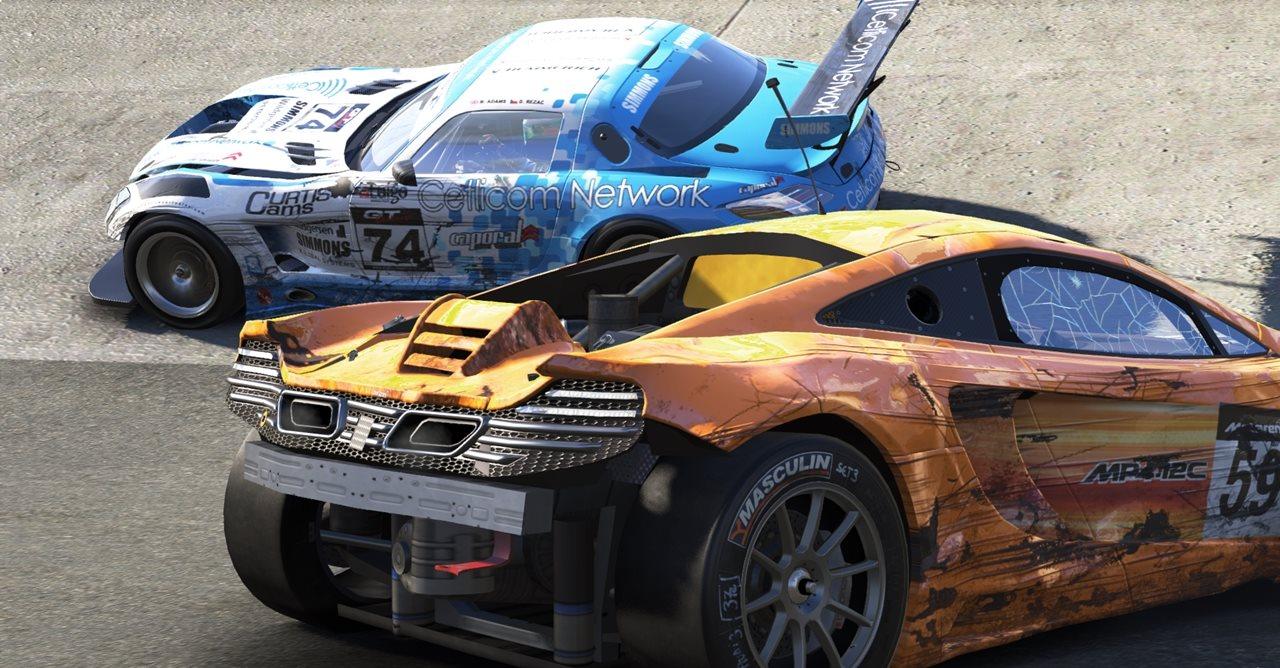 Arranhões e amassados: veja os carros batidos de Project CARS