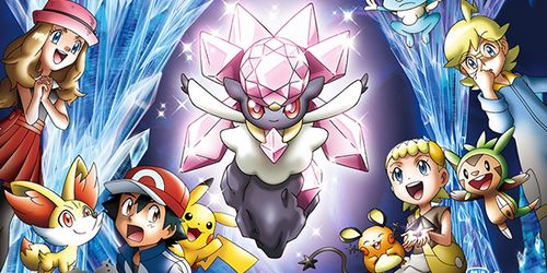 Pokémon: Diancie and the Cocoon of Destruction; Novo Trailer