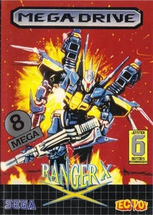 review - ranger-x - mega drive