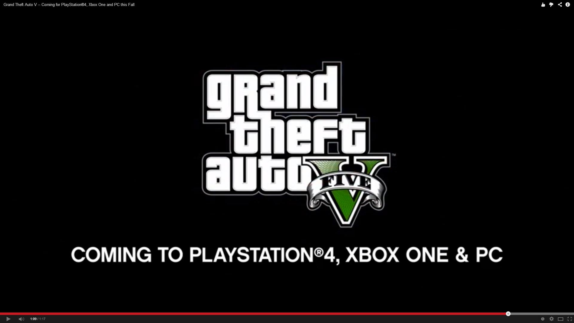 [ESPECIAL E3] GTA V para PC !!