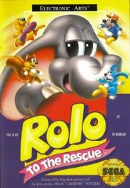 review - rolo to the rescue - mega drive