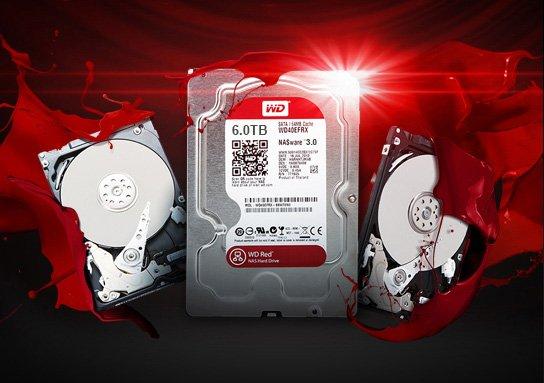 Western Digital lança disco rígido WD Red com 6TB