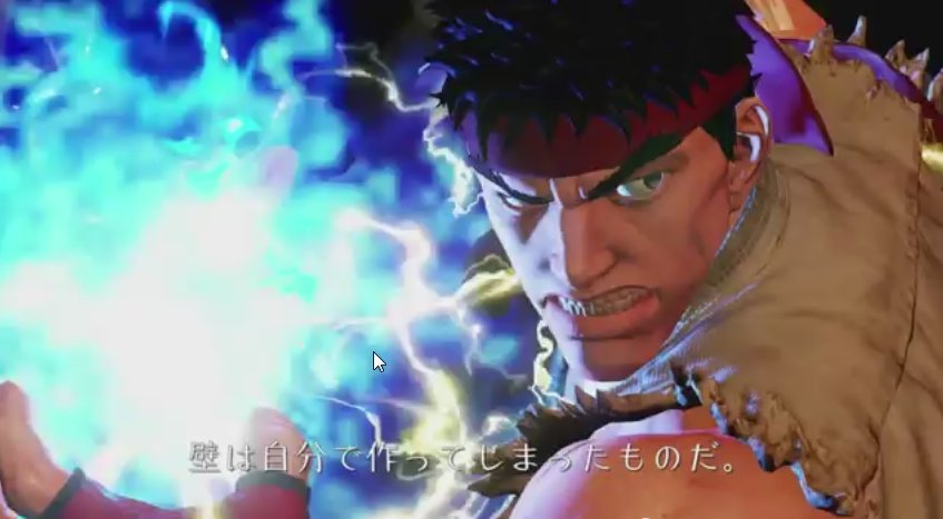 BOMBA! Vaza o primeiro teaser de Street Fighter V - EXCLUSIVO PLAYSTATION 4 e PC