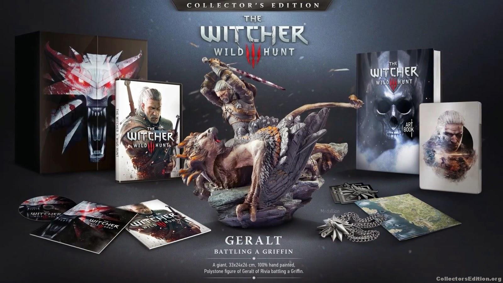 Aterrorisante: Preço da edição especial de The Witcher 3, no Brasil