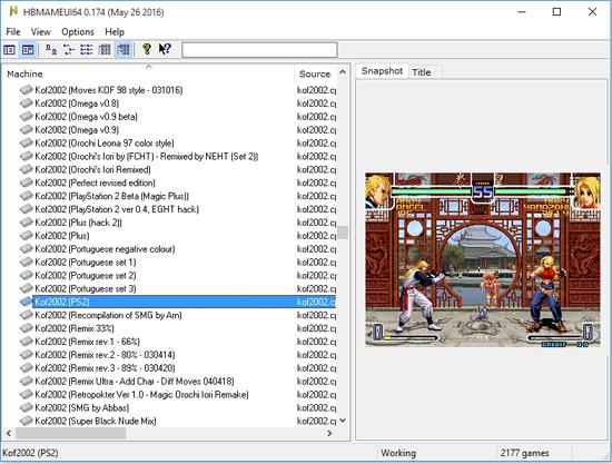 HBMAME 0.174 Fullset - Todas as ROMs + Emulador + Extras