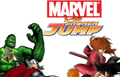 Marvel vs Shonen Jump