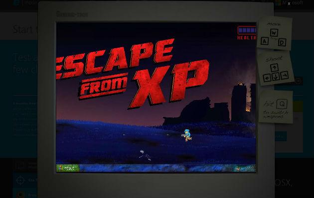 Microsoft cria jogo para 'matar' o Windows XP