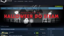 Promoção de Halloween do Steam tem jogos com até 90% de desconto
